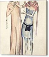 Pulse Measurement, 14th Century Artwork Canvas Print