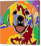 puppy Portrait 7 Canvas Print
