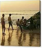 Puri Fishermen Canvas Print