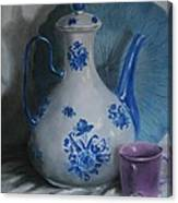 Purple Cup Canvas Print
