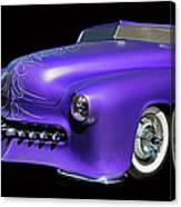 Purple Customized Canvas Print