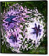 Purple Daisies World - Abstract Art Canvas Print