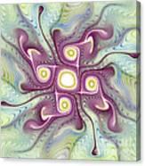 Purple Fractalishus Canvas Print