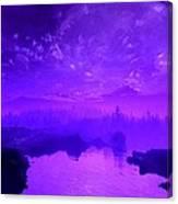 Purple Mist Canvas Print