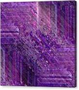 Purple Mystique Canvas Print