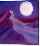 Purple Night 2 Canvas Print