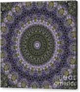 Purple Pleasure Abstract Canvas Print