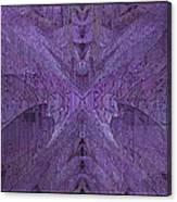 Purple Poeticum Canvas Print