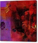 Purple Rain I Canvas Print