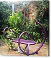 Purple Seat Canvas Print