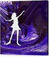 Purple Taffy Canvas Print