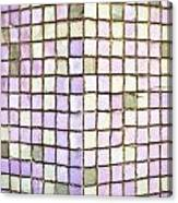 Purple Tiles Canvas Print
