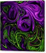 Purple Transformation Canvas Print