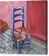 Purple Vincent Canvas Print