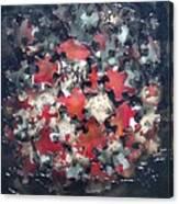 Puzzling  Canvas Print