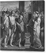 Pylades And Orestes Canvas Print