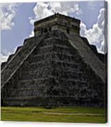 Pyramid  Of Kukulkan  Canvas Print