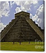 Pyramid Of Kukulkan Two Canvas Print