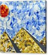 Pyramidscape Canvas Print