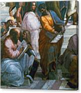 Pythagoras (569-475 B.c.) Canvas Print