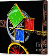 Pythagorean Machine Landscape 1 Canvas Print