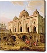 Qal' A-l-kuhna Masjid - Purana Qila Canvas Print