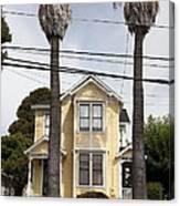 Quaint House Architecture - Benicia California - 5d18592 Canvas Print