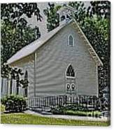 Quaker Church Pencil Canvas Print