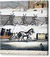 Quakers Canvas Print