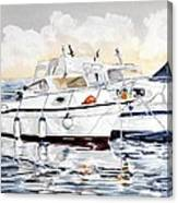 Quattro Parabordi Canvas Print
