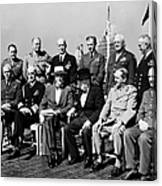 Quebec Conference, 1944 Canvas Print
