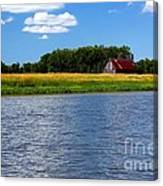 Quebec Countryside Canvas Print