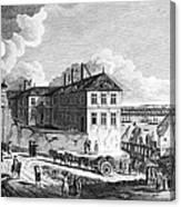 Quebec: Ruins, 1761 Canvas Print