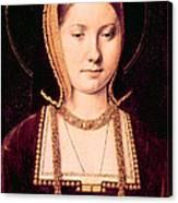 Queen Katherine Of Aragon 1485-1536 Canvas Print