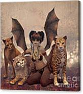 Queen Of Cats Canvas Print