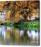 Quiet Autumn Day Canvas Print