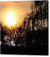 Quiet Country Sunrise Canvas Print