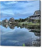 Quiet On The Sound Canvas Print