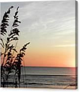 Quiet Rise No Wind Canvas Print
