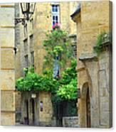 Quiet Street In Sarlat Canvas Print
