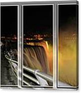 Quiet Thunder Triptych Series Canvas Print