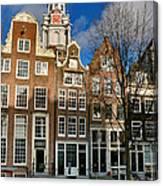 Raamgracht 19. Amsterdam Canvas Print
