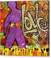 Race 4 Love Canvas Print