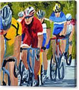 Race Warm Up Canvas Print