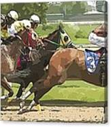 Racetrack Views Canvas Print