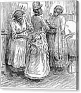Racial Caricature, 1886 Canvas Print