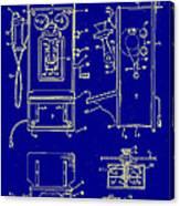 Radio Phone Patent Canvas Print