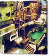 Radio Room Canvas Print