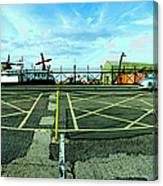 Raf Lee-on-the-solent Hovercaft Canvas Print
