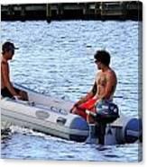 Rafting Canvas Print